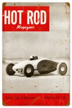Retro Hot Rod Magazine 17899 Tin Sign