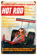 Retro Hot Rod Magazine 27515 Metal Sign