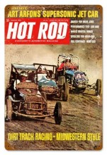 Retro Dirt Track (Aug. 1968) Metal Sign
