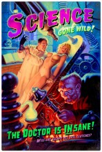 Retro Science Gone Wild Tin Sign