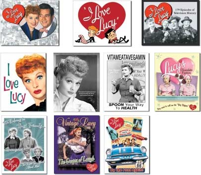 I Love Lucy tin signs