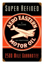 Vintage Aero Eastern Tin-Metal Sign