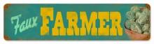 Faux Farmers Tin Sign
