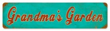 Grandma's Garden Tin Sign