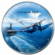 Vintage-Retro Corsair Wall Clock
