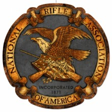 NRA Logo Metal Sign