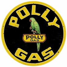 Polly Gas Sign