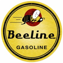 Beeline Gasoline Sign