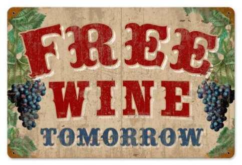 free-wine-sign