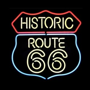 Neon Bar Sign - Historic Route 66